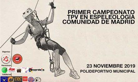 El primer Campeonato TPV en Espeleología se celebra en Torrelodones