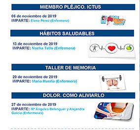 Talleres de cuidados y salud en el Hospital de Guadarrama