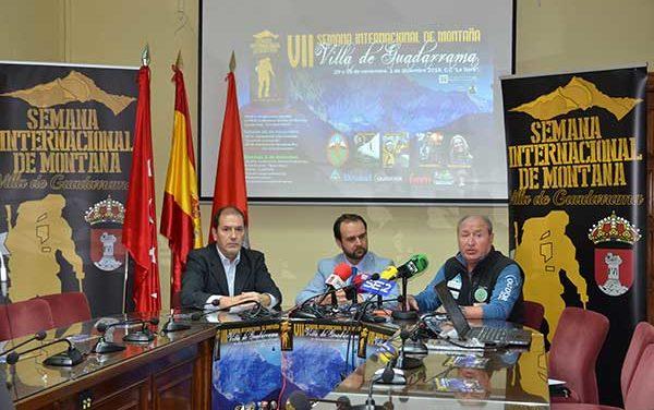 El mundo del montañismo se citará en las Jornadas de Montaña de Guadarrama