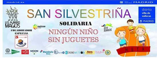 La Sansilvestriña cumple cinco años y estrena recorrido en el corazón de Vallecas