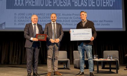 """""""Balada de intemperie"""", premio poesía Blas de Otero, de Majadahonda"""
