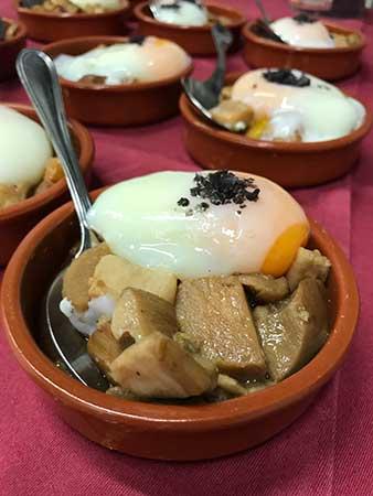 jornadas gastronómicas de setas en san lorenzo