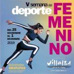 El Ayuntamiento de Collado Villalba organiza la Quinta semana del deporte femenino