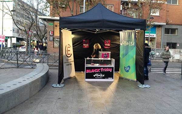 La campaña comercial Black Friday de Collado Villalba ha dejado ventas superiores a 20.000 euros