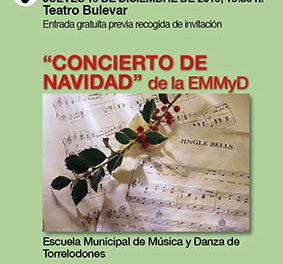 Concierto de Navidad de la Escuela Municipal de Música y Danza de Torrelodones