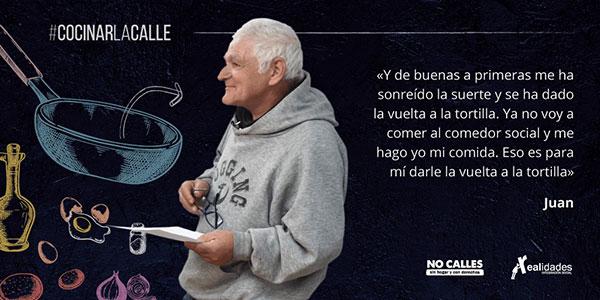"""El documental  """"Cocinar la calle"""", en el Centro Municipal de Servicios Sociales de Torrelodones"""