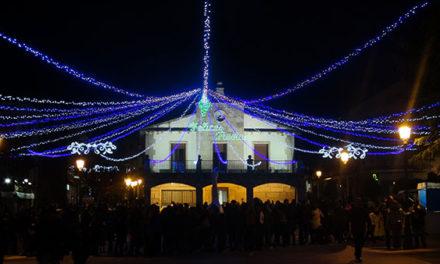 El encendido de luces arranque de la Navidad en Galapagar