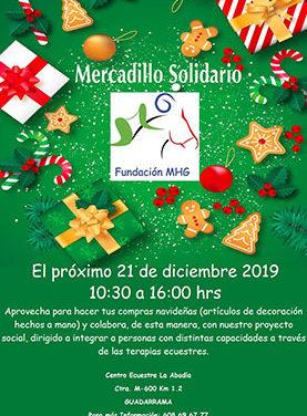 Mercado solidario a favor de la Fundación MHG en Guadarrama