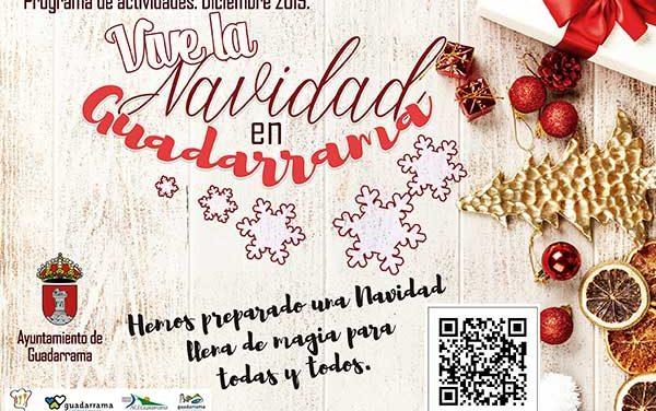 El alumbrado navideño marca el inicio de Navidad en Guadarrama