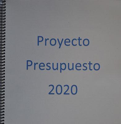presupuestos de 2020