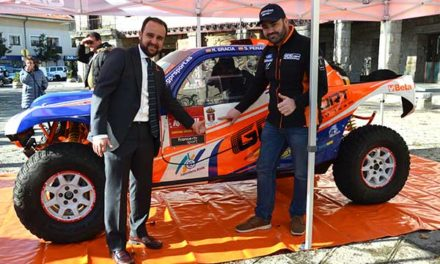 Rubén Gracia, campeón de Rallies TT, llevará el nombre de Guadarrama al Dakar 2020