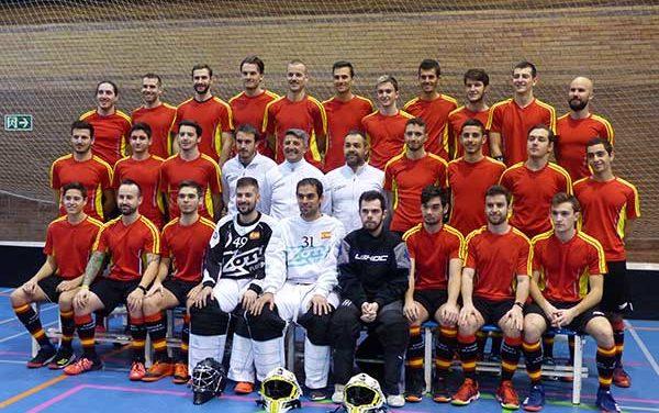 La selección nacional de Floorball volverá a entrenar en Guadarrama