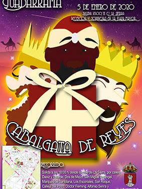 La comitiva de Los Reyes Magos recorrerá las calles de Guadarrama