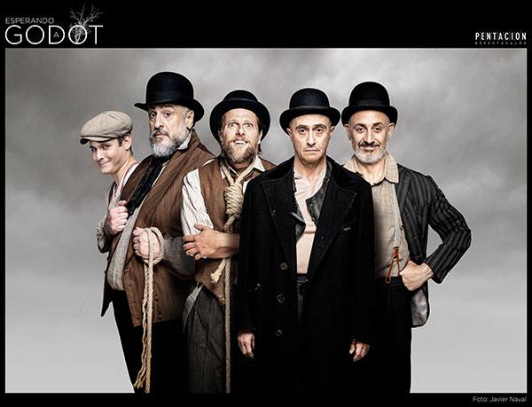 """""""Esperando a Godot"""", de Samuel Beckett, este fin de semana en Las Rozas"""