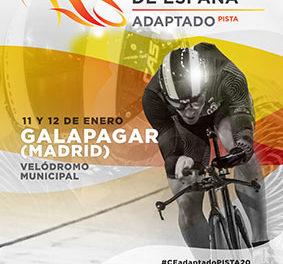 46 deportistas de élite participarán en el Campeonato de España de ciclismo adaptado en pista en Galapagar