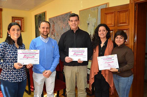 Entregados los premios a los ganadores del VI Concurso de Escaparates de Guadarrama