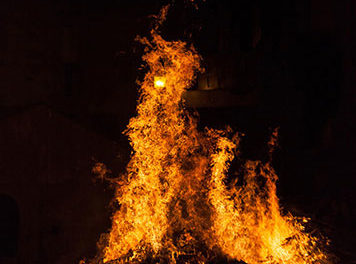 La iluminaria de San Sebastián se celebra el lunes en Collado Villalba