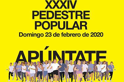La XXXIV Pedestre popular de Torrelodones acogerá a 450 atletas