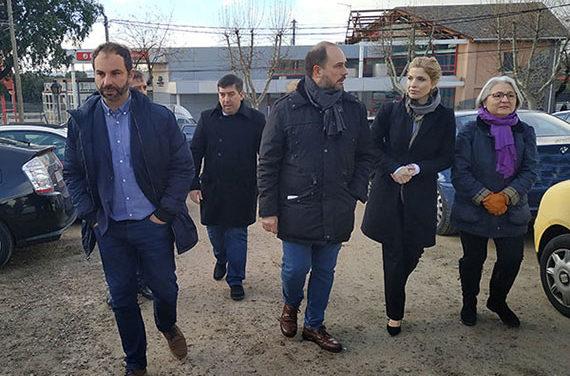 Los socialistas reclaman celeridad para construir el aparcamiento disuasorio en la estación de Torrelodones