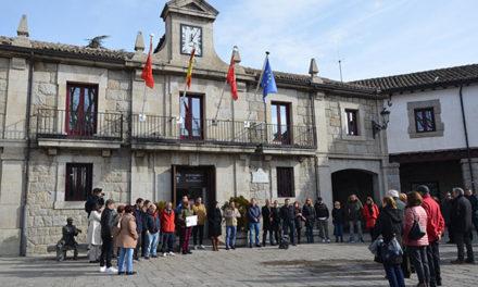 Un minuto de silencio por las víctimas del Holocausto en Guadarrama