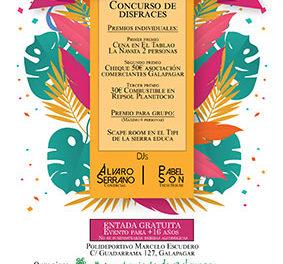 Fiesta de Carnaval con batucada y DJs en Galapagar