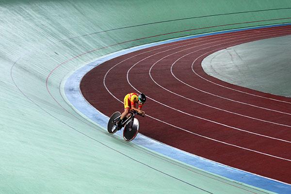 El velódromo de Galapagar acoge la final de la Copa de España de Ciclismo en pista
