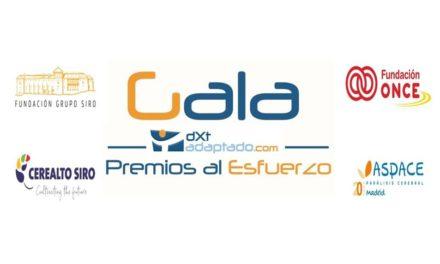 La I Gala Premios al Esfuerzo reconocerá a deportistas con discapacidad