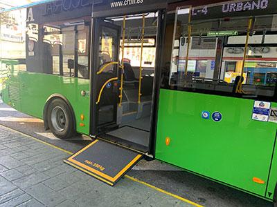 autobús accesible san lorenzo de el escorialo