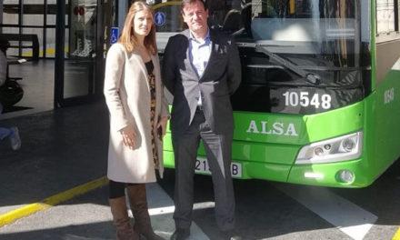 Un nuevo autobús accesible para la línea 4 de San Lorenzo