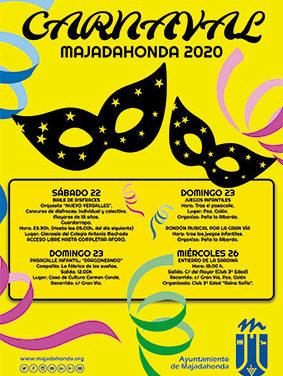 Fiestas de Carnaval en Majadahonda