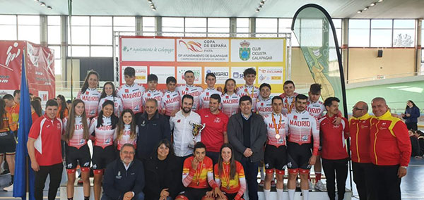 La galapagueña Eva Anguela, campeona de España de Ciclismo en Pista en la categoría Junior