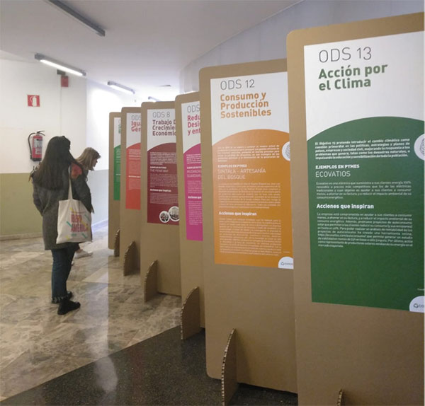 """La exposición """"Acciones que inspiran"""" recorrerá la Sierra de Guadarrama"""