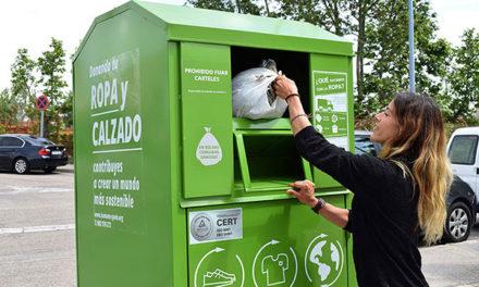 Los vecinos de Torrelodones reciclaron 107 toneladas de textil usado