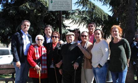 Dos plazas en honor a la Corporación de 1936 en las confluencias del cementerio de Galapagar
