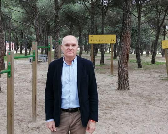 Cs Las Rozas propone iluminar las rutas de running de la Dehesa de Navalcarbón