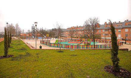 Finaliza la remodelación del parque Castillo de Atienza