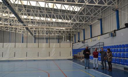 El polideportivo del colegio Villa de Guadarrama ya está operativo