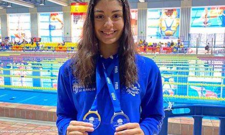 La sanlorentina Laura Sánchez Sánchez logra tres oros y una plata