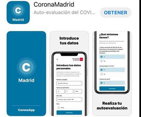 Disponible la nueva App del coronavirus para la autoevaluación de los ciudadanos