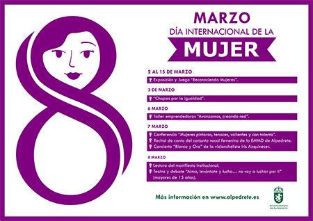 Alpedrete celebra el Día Internacional de la Mujer