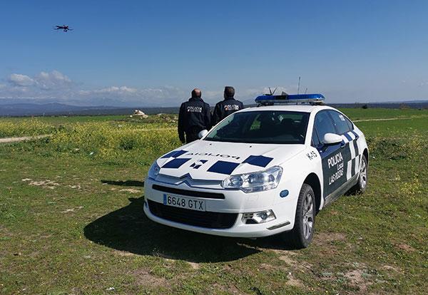 La Policía de Las Rozas utiliza un dron para controlar que se cumpla el confinamiento
