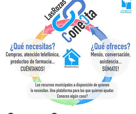 Más de 150 roceños se inscriben como voluntarios en la plataforma Las Rozas Conecta
