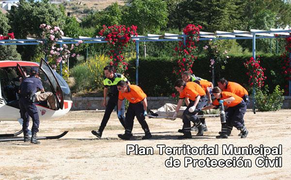 Activado el Plan Territorial Municipal de Protección Civil de Torrelodones- PLATERTORRE