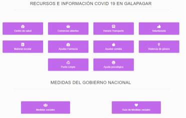 Podemos Galapagar incluye en su web información y servicios municipales sobre pandemia