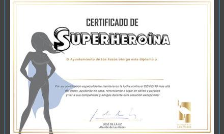 """Los niños de Las Rozas """"Superhéroes"""" de la cuarenta recibirán diploma"""