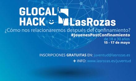#GlocalHackLasRozas, 200 jóvenes podrán mostrar ideas creativas tras el confinamiento