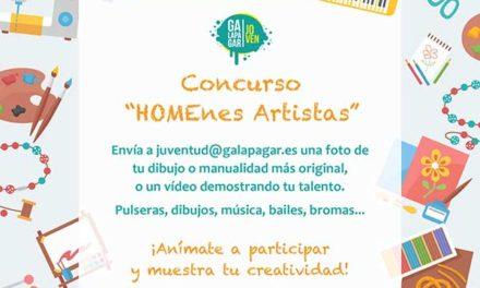 """""""HOMEnes Artistas"""", Galapagar promueve la creatividad entre niños y jóvenes"""
