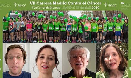 Carrera virtual Madrid en marcha contra el cáncer y el COVID