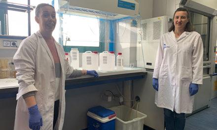 El Laboratorio municipal de Las Rozas comienza a producir  gel hidroalcohólico