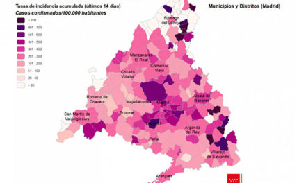 Desciende el número de contagios en los últimos días en las localidades del noroeste